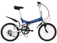 DAHON大行20寸折叠车山地 高碳钢双减震成人折叠自行车TST061