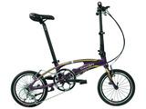 DAHON美国大行16寸折叠自行车超轻成人儿童通勤自行车SRA683