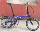 DAHON大行休闲折叠自行车学生男女轻便折叠脚踏车KAC083(日本款SPEED P8)