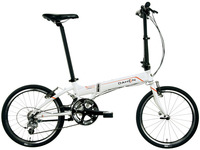 DAHON大行KAA082 20寸铝合金超轻成人男女公路折叠自行车P8破风版