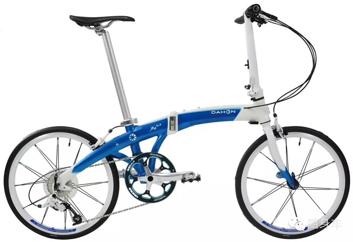 DAHON大行P系列超轻铝合金10速折叠公路自行车PDA004