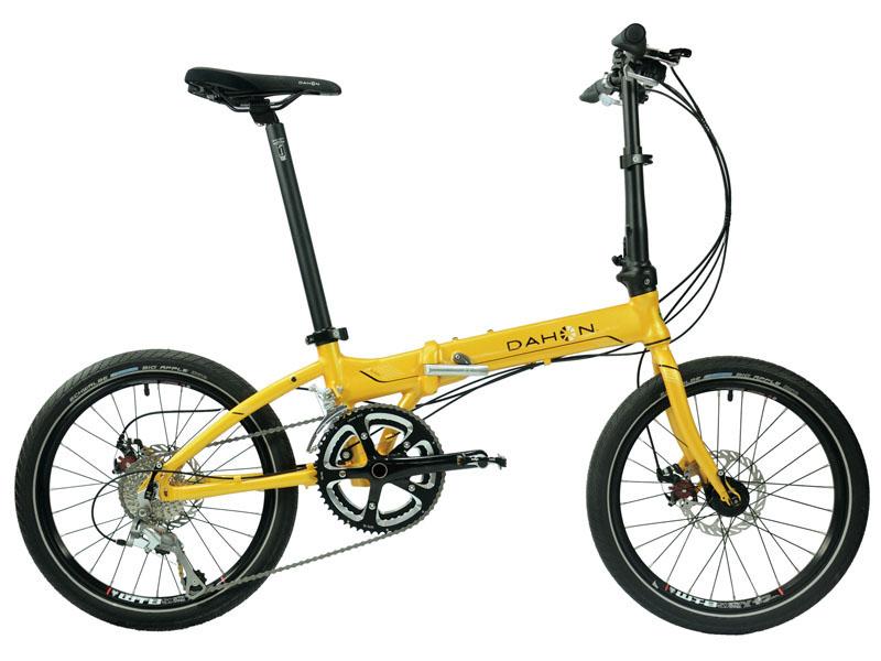 DAHON大行20寸折叠变速自行车铝合金轻碟刹成人自行车S18 KAA084