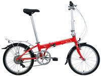 DAHON大行畅销款成人男女士折叠自行车20寸变速超轻单车KAC072