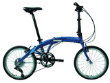 DAHON大行P系列成人自行车20寸超轻便携折叠PAA083