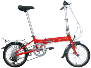 DAHON大行折叠车16寸7速男女款自行车通勤变速单车KAA672