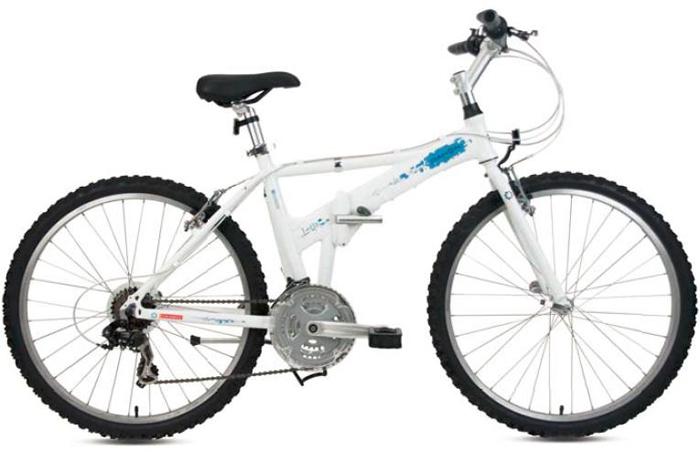 DAHON大行折叠山地车26寸21速铝合金双油碟刹自行车DAA612