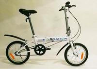 Dahon大行16寸折叠自行车都市男女折叠单车KT611