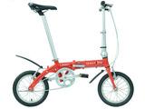 DAHON大行折叠自行车14寸超轻成人学生男女式铝合金单车 BYA412