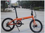 DAHON大行20寸折叠自行车碟刹钢架成人都市男女士单车D8 KCC083