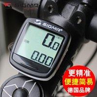 西格玛SIGMA中文自行车码表6.15 11.15中文显示码表骑行码表